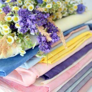 Tkaniny farbowane roślinami