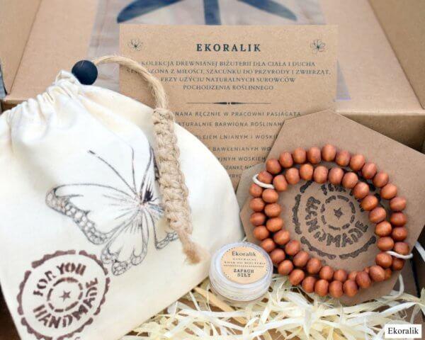 Nowa kolekcja EKORALIK, drewniana biżuteria, dla ciała i ducha