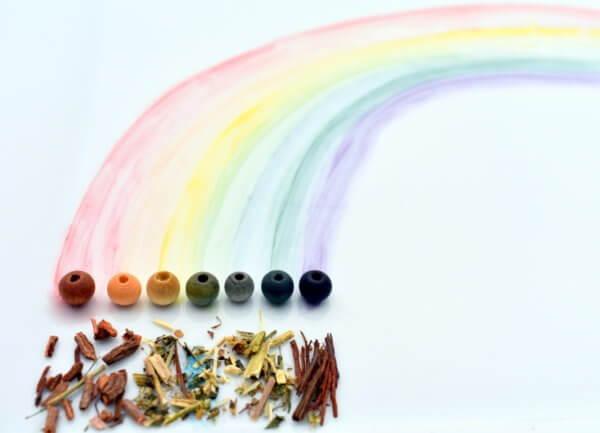W naturalnych kolorach TĘCZY